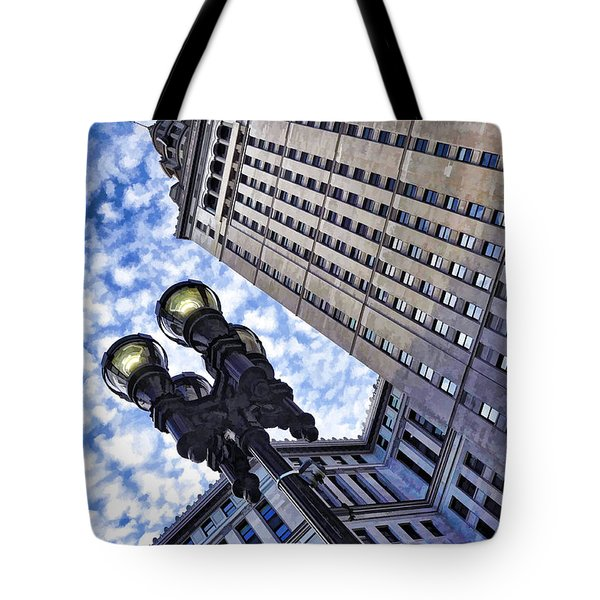 Terminal Tower - Cleveland Ohio - 1 Tote Bag
