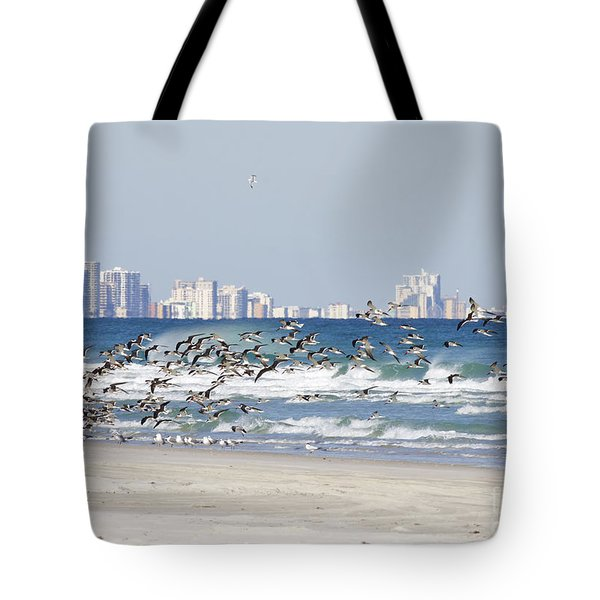 Terns On The Move Tote Bag