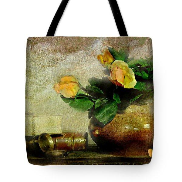 Terra Cotta Rose Tote Bag