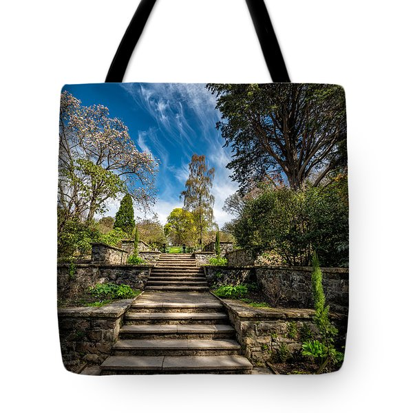 Terrace Garden Tote Bag by Adrian Evans