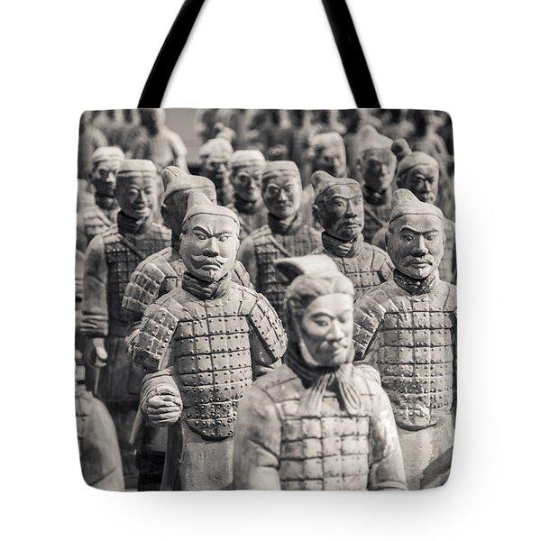 Terracotta Army Tote Bag