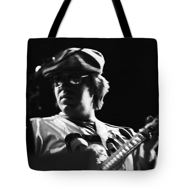 Terry Kath At The Cow Palace In 1976 Tote Bag by Ben Upham