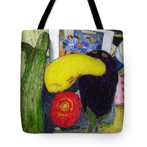 Tess' Vegetables Tote Bag