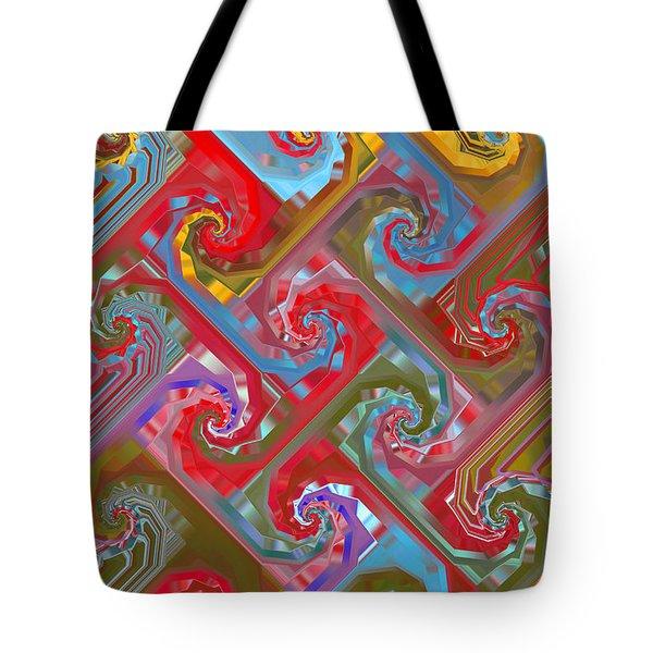 Tessellation Tote Bag by Mariarosa Rockefeller