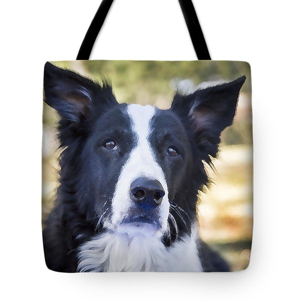 Tessie Good Girl Tote Bag by Rich Franco