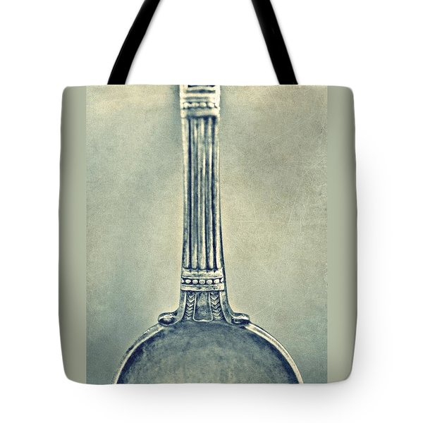 Silver Spoon Tote Bag by Patricia Strand