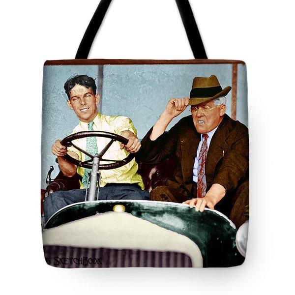 Test Drive Tote Bag