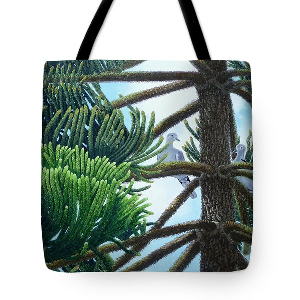Tete A Tete Tote Bag by Beverly Theriault
