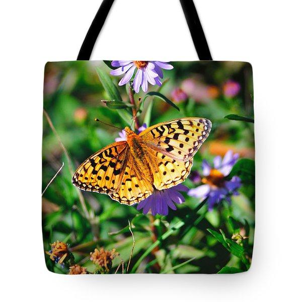 Teton Butterfly Tote Bag