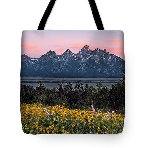 Teton Spring Tote Bag