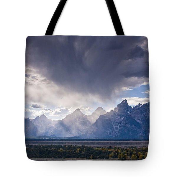 Teton Storm Tote Bag by Mark Kiver