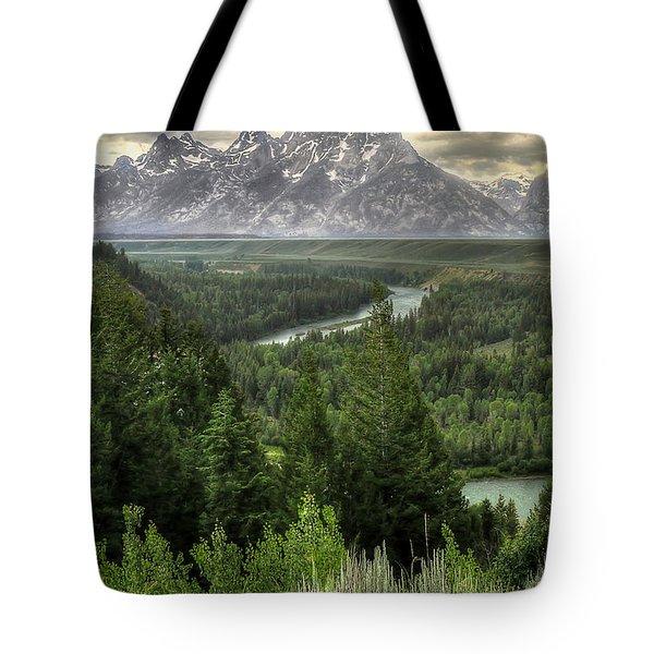 Teton Visions Tote Bag