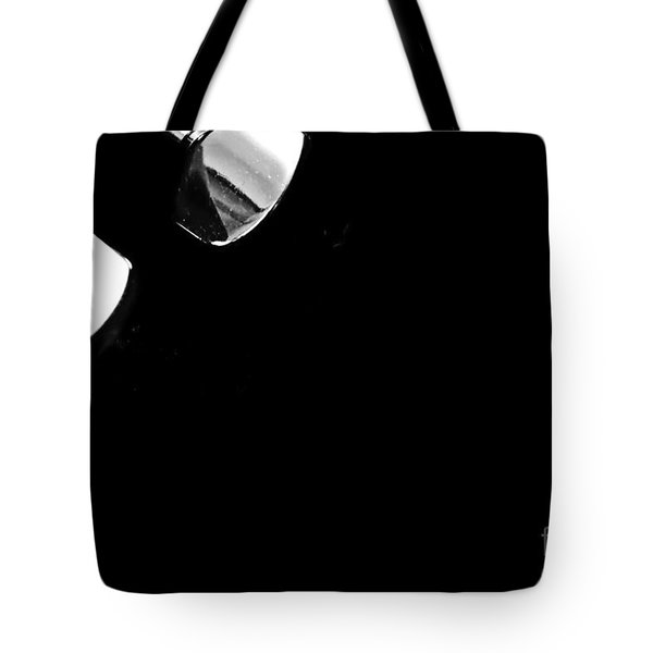 Tetraptych - Head Stock With Red Pick - Panel 4 Of 4 - Guitar - Music Tote Bag