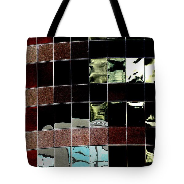 Tote Bag featuring the photograph Tetris by Christiane Hellner-OBrien