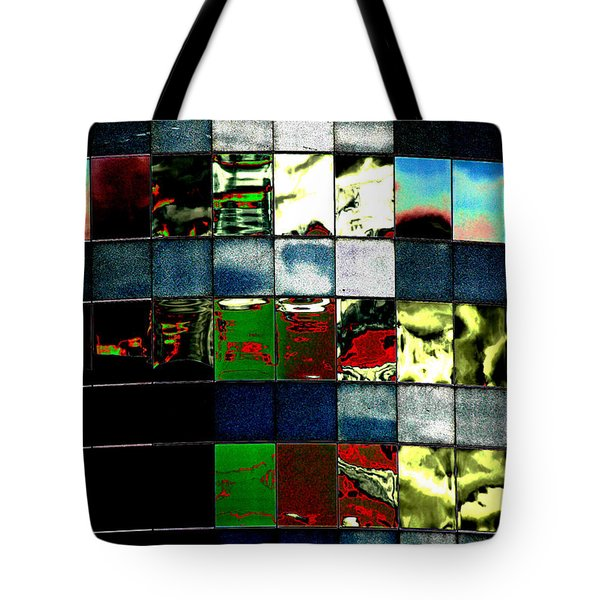 Tote Bag featuring the photograph Tetris II by Christiane Hellner-OBrien