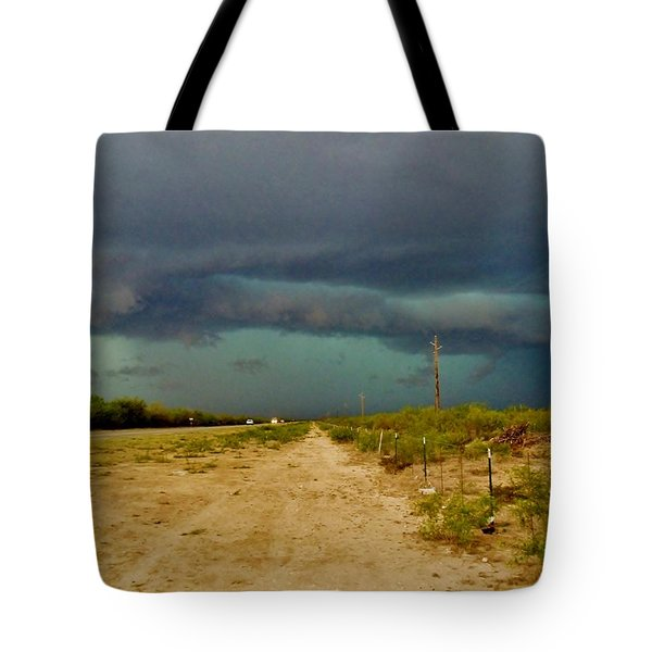 Texas Blue Thunder Tote Bag by Ed Sweeney