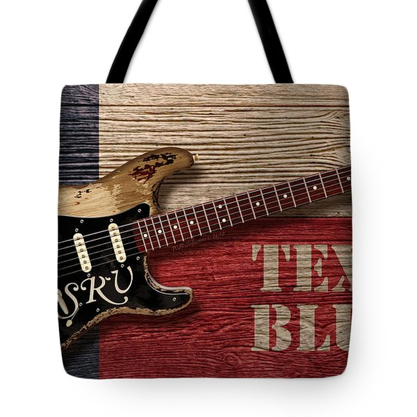Texas Blues Tote Bag