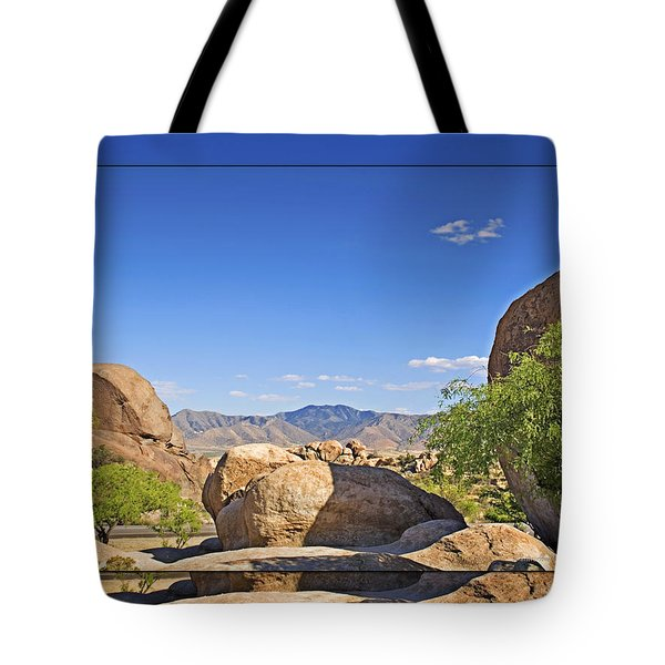 Texas Canyon 2 Tote Bag