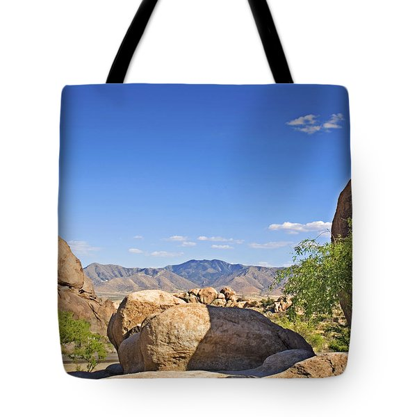 Texas Canyon Tote Bag