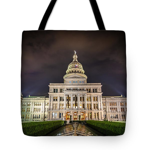 Texas Capitol Building Tote Bag