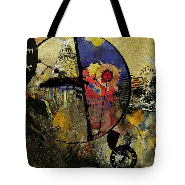 Texas  Tote Bag by Corporate Art Task Force