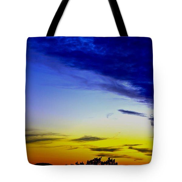 Texas Hill Country Sunset Tote Bag