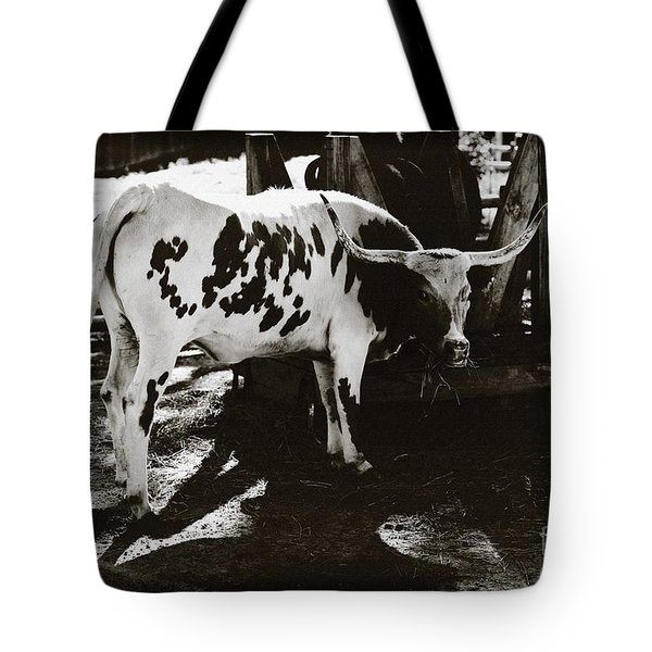 Texas Longhorn Tote Bag by Liane Wright