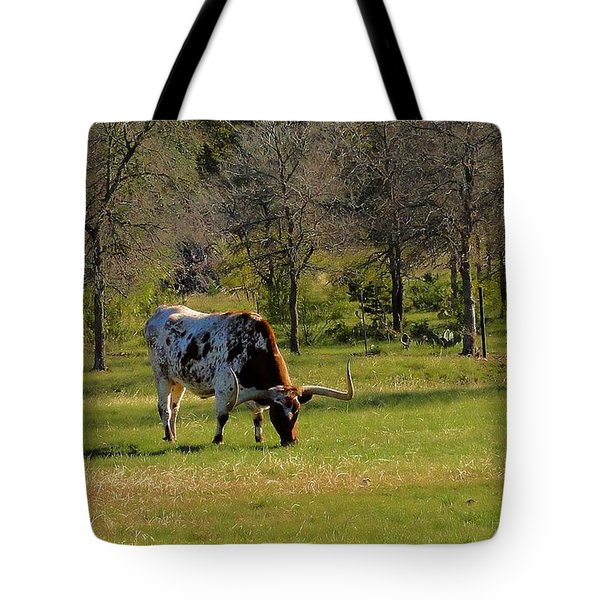 Texas Longhorns Tote Bag