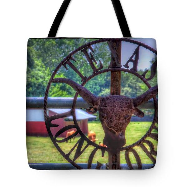 Texas Longhorns Tote Bag