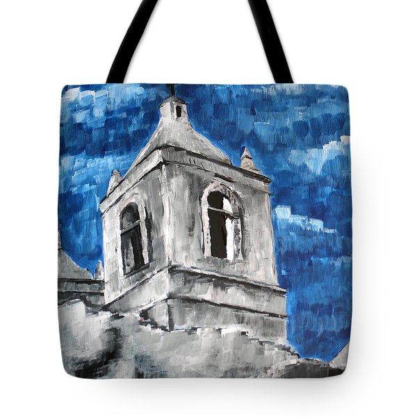 Texas Mission Tote Bag