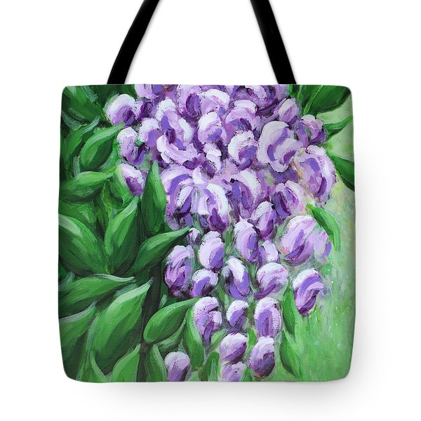 Texas Mountain Laurel Tote Bag by Kume Bryant