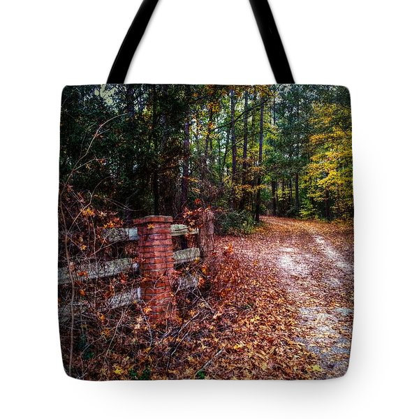 Texas Piney Woods Tote Bag