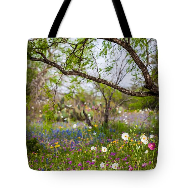 Texas Roadside Wildflowers 732 Tote Bag