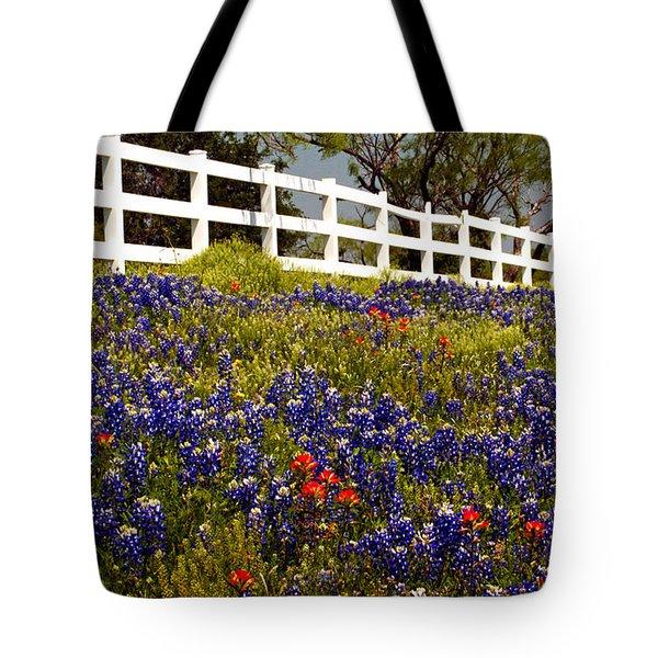 Texas Spring Tote Bag by Brian Kerls