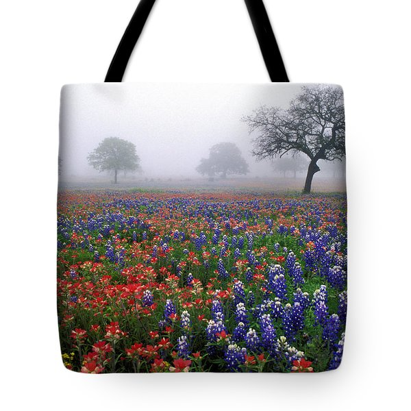 Texas Spring - Fs000559 Tote Bag by Daniel Dempster
