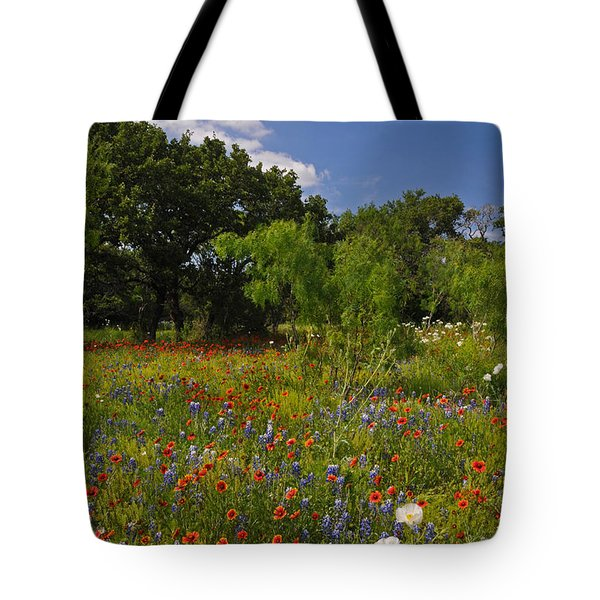 Texas Spring Spectacular Tote Bag
