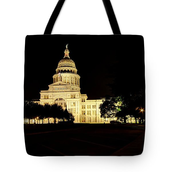 Texas State Capitol Tote Bag by Dave Files