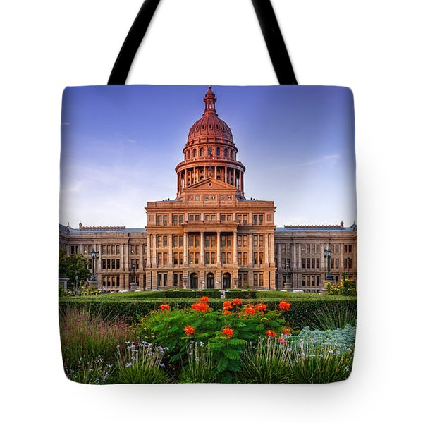 Texas State Capitol Summer Morning - Austin Texas Tote Bag
