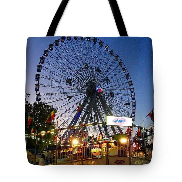 Texas State Fair Tote Bag