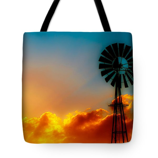 Texas Sunrise Tote Bag by Darryl Dalton