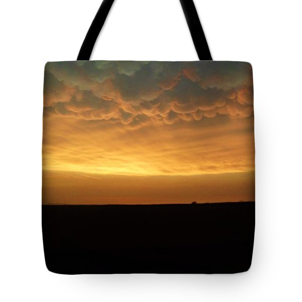 Texas Sunset Tote Bag by Ed Sweeney