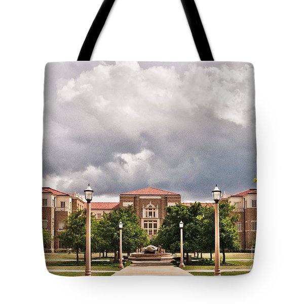 Tote Bag featuring the photograph School Of Education by Mae Wertz