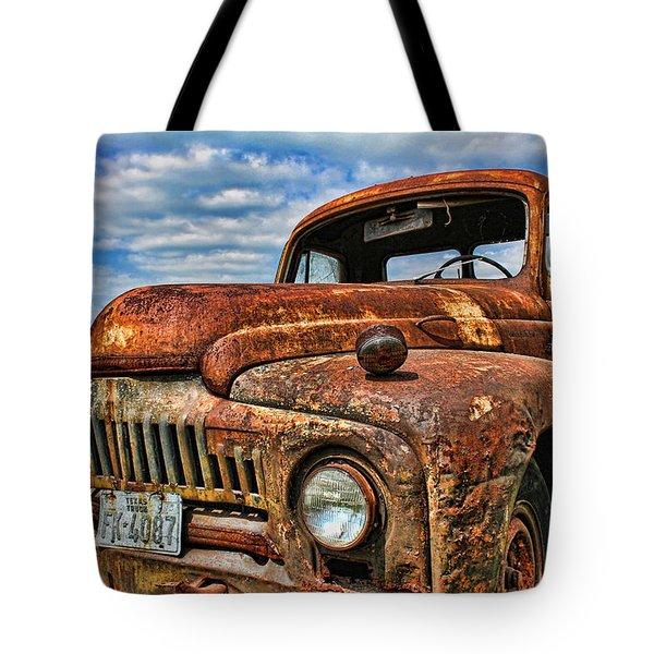 Texas Truck Tote Bag by Daniel Sheldon