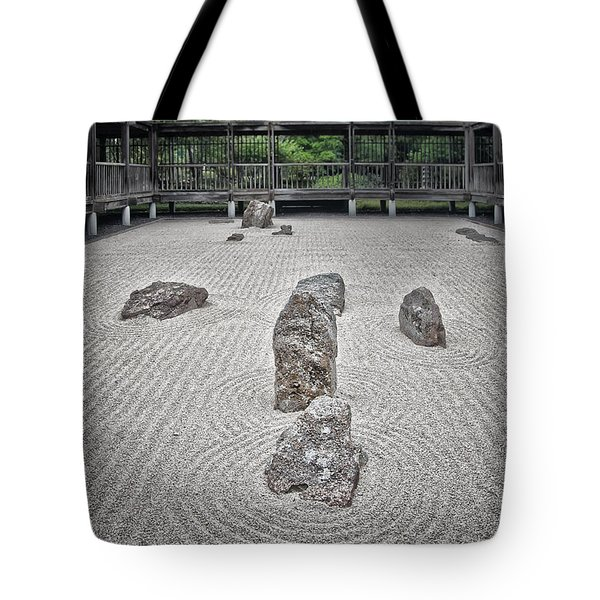 Texas Zen Tote Bag by Joan Carroll