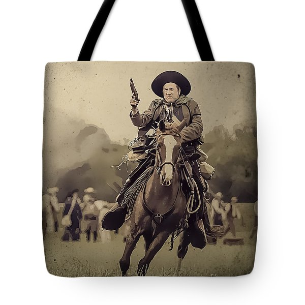 Texican Cavalry Tote Bag