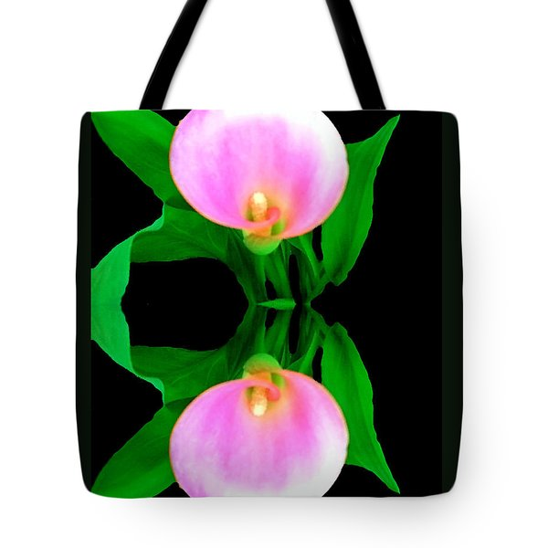 Tote Bag featuring the photograph Textured - Pink Lily by Gena Weiser