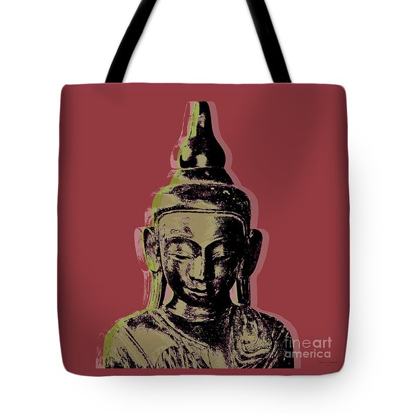 Thai Buddha #1 Tote Bag by Jean luc Comperat