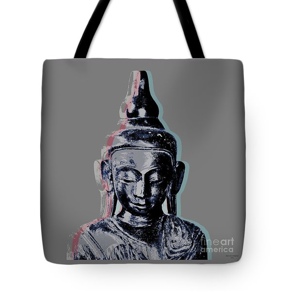 Thai Buddha #2 Tote Bag by Jean luc Comperat
