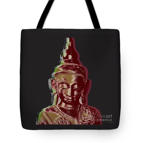 Thai Buddha #3 Tote Bag by Jean luc Comperat