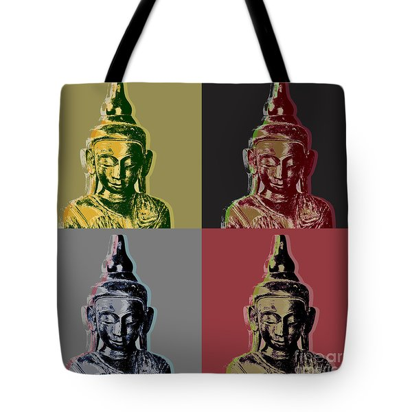 Thai Buddha Tote Bag by Jean luc Comperat